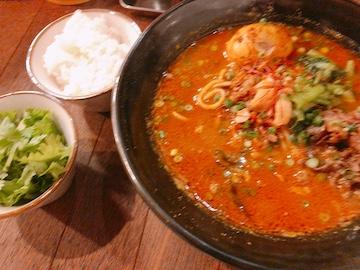 スパイスカレー麺(全体)