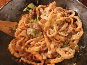 汁なし担々麺(麺について)