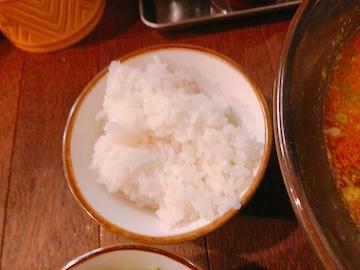 スパイスカレー麺(追い飯)