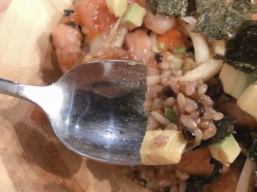 アヒポキ丼(実食)