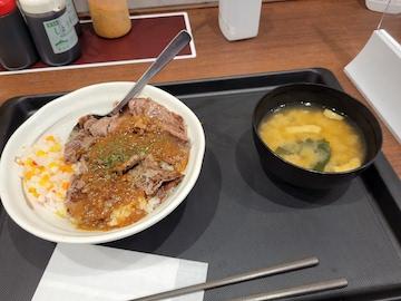 ビーフステーキジャポネソース(全体)
