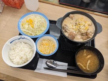 シュクメルリ鍋定食(全体)