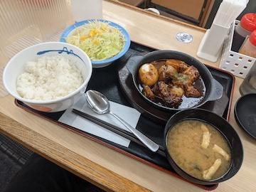 ビーフシチュー定食(全体)