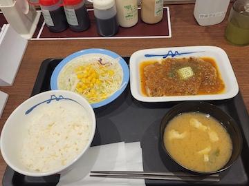 厚切りトンテキ定食(全体)