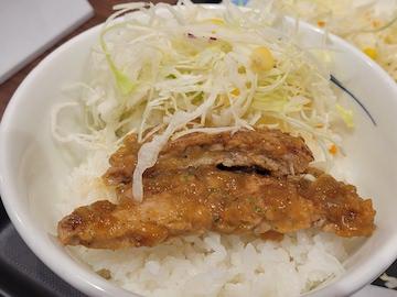 厚切りトンテキ定食()