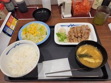 アンガス牛焼肉定食(全体)