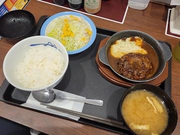 黒毛和牛ハンバーグ(定食)
