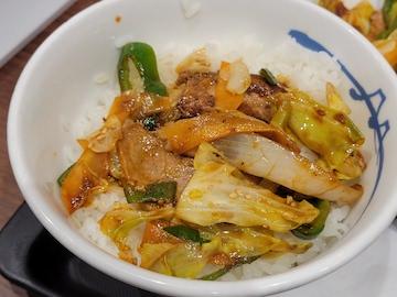 回鍋肉定食(実食)