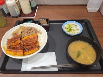 うな牛めしW(全体)